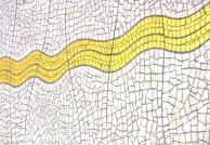 Liquid Gold Mosaic