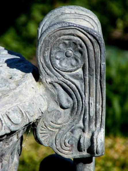 Detail of an urn