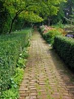 Brick Paved Path