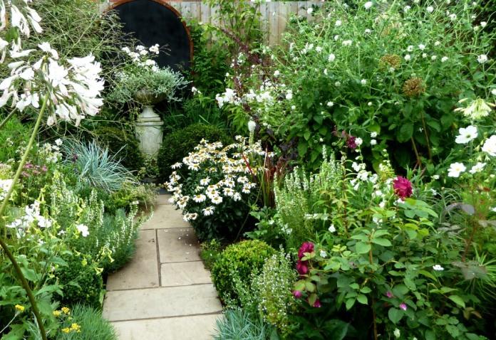 Almost a white garden
