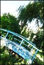 The Blue Monet Bridge