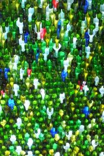 5000 wine bottles...