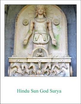 Surya (Hindu Sun God)