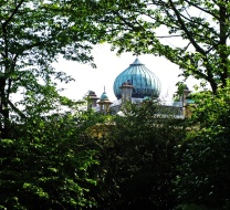 Hindu inspired dome