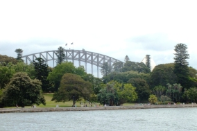 The Bridge from the Cove
