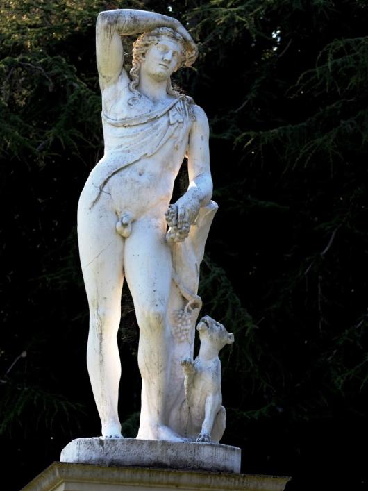 Statue of Bacchus