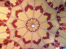 Gothic Temple ceiling