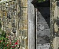 Door into the courtyard
