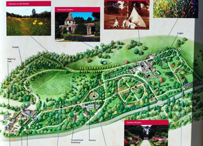 Map of the Gardens