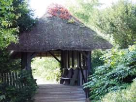Thatched bridge