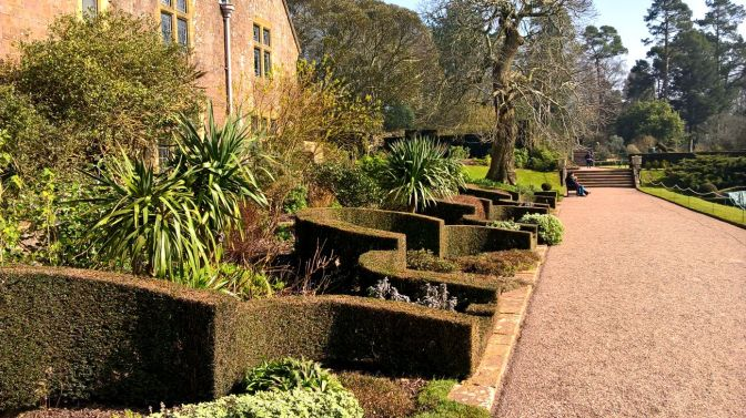 Formal Garden at the front of the house