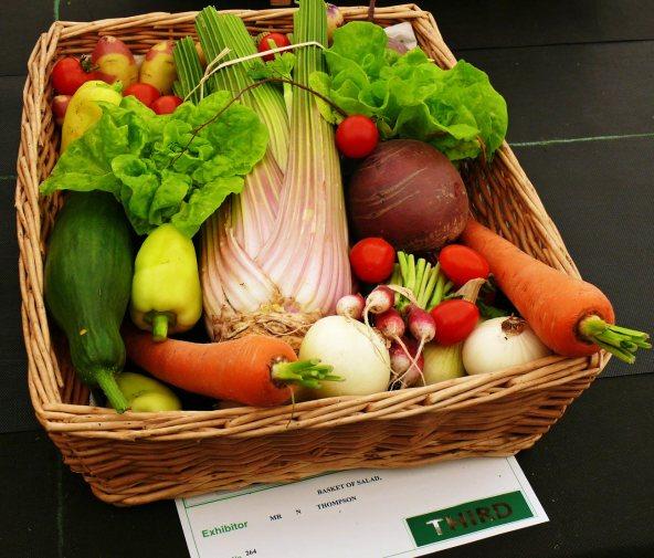 Vegetable basket competition
