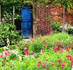 A Fairytale blue door