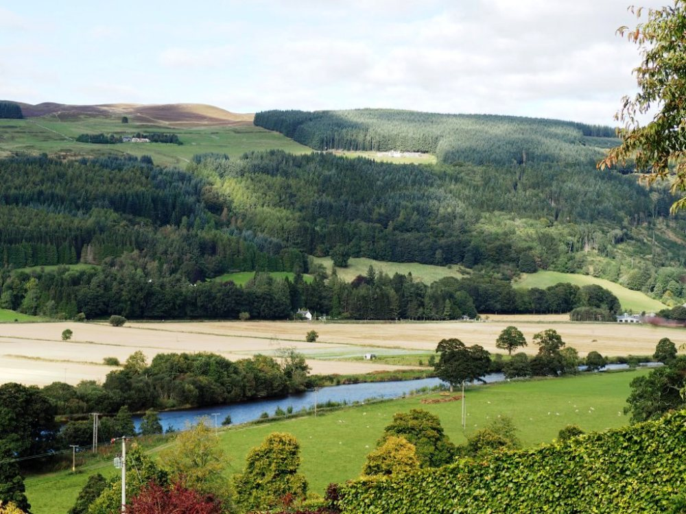 Views over the Tay Valley