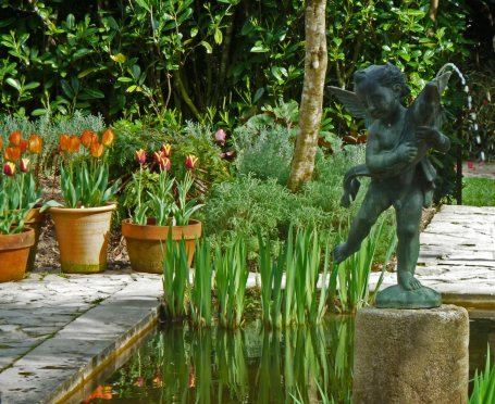 Lost Gardens of Heligan, Cornwall - Italian garden