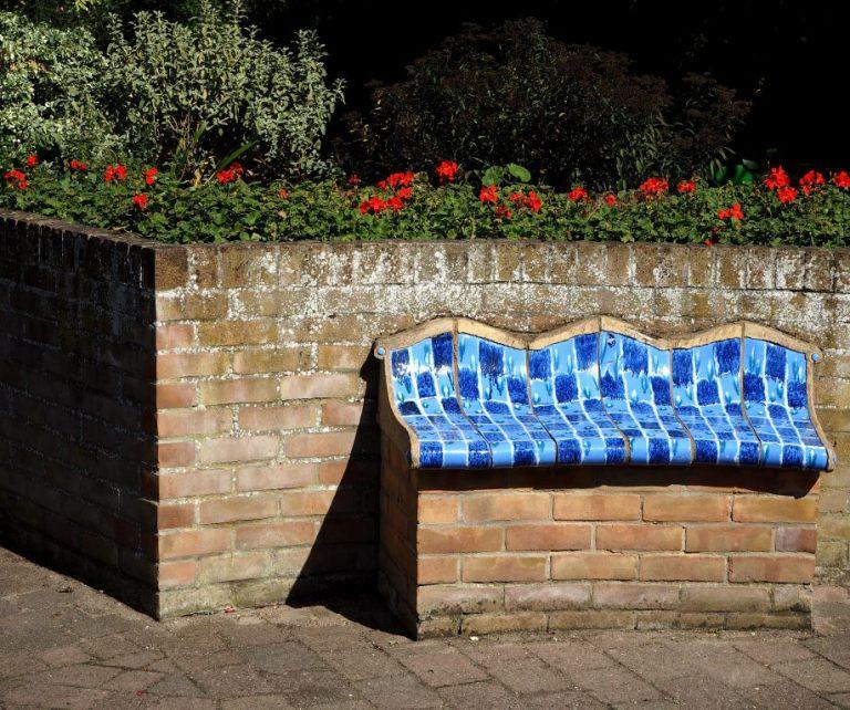 Sensory Garden Bench