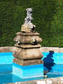 Fountain in need of repair