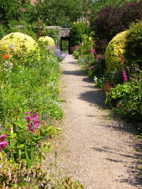 Gravel pathways