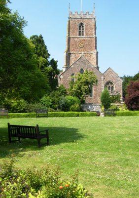 Dunster church